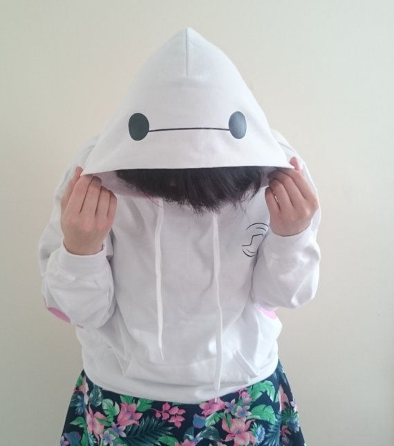 Baymax inspired hoodie - Choose your size!