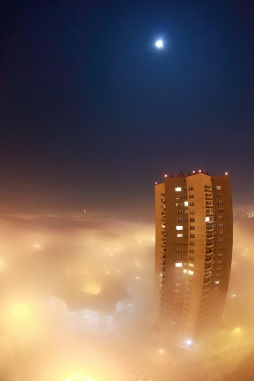 Wieżowiec gwiazdy w Katowicach / Star skyscraper in Katowice