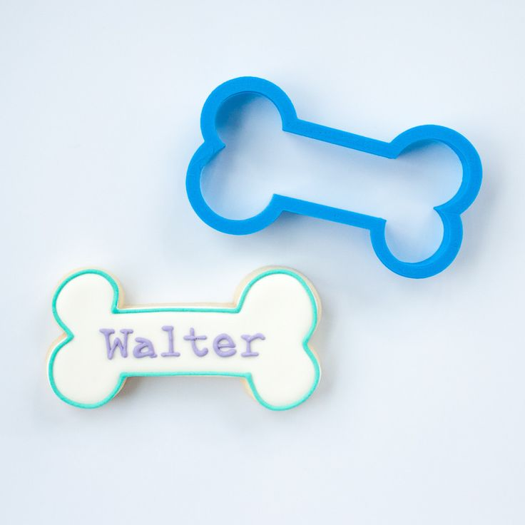 This Walter dog bone cookie cutter is crafted for durability and quality. All…