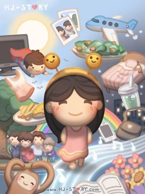 Mi mundo... Todo lo q más amo de mi vida, tu, mis hijos,la comida y cositas ja!