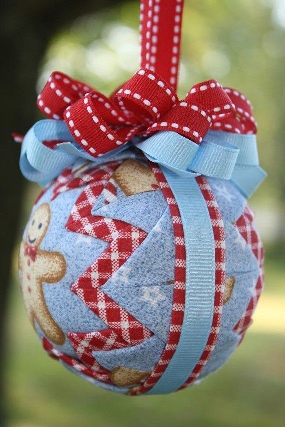 Tremendous Best 25 Quilted Ornaments Ideas On Pinterest Quilted Christmas Easy Diy Christmas Decorations Tissureus