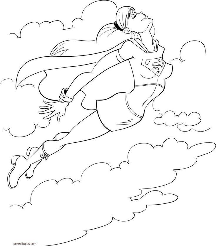Dibujos De Superheroes Para Colorear Descargar Gratis ...