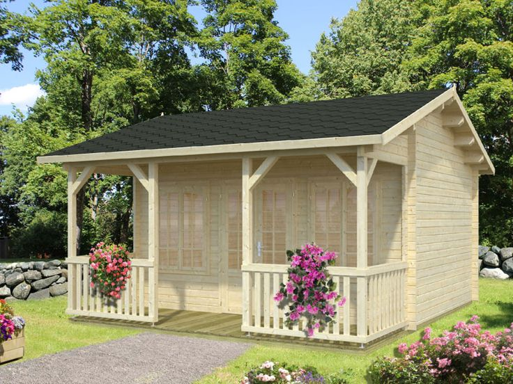 9 best Garden Cabin images on Pinterest Log cabins Cabin kits