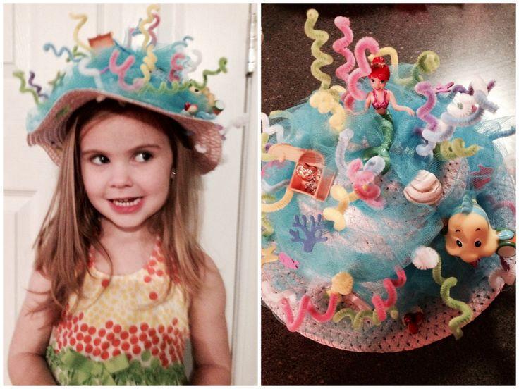 Crazy hat day Little Mermaid hat!