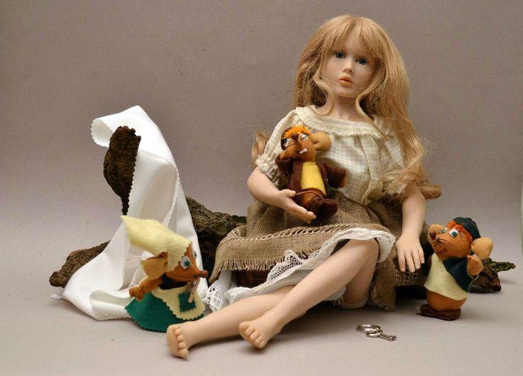 Cinderella con i suoi amici topini.