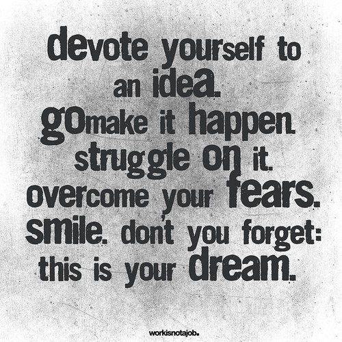 devote.: Ideas, Dreambig, Dreams Big, Crossword Puzzles, Makeithappen, Make It Happen, Devotional, Inspiration Quotes, Dreams Coming True