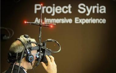 Plonger dans le conflit syrien avec la réalité augmentée - TV Bilan, Techno, Les plus de la rédaction - Bilan