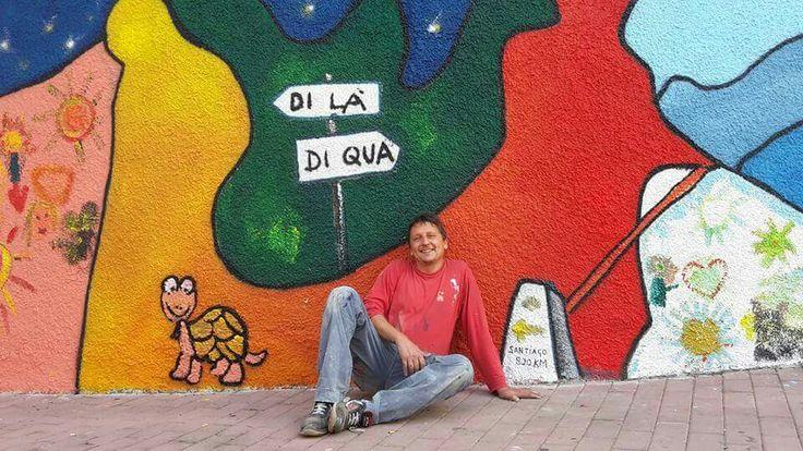 11/9/2015 murales nel quartiere del lagaccio a Genova