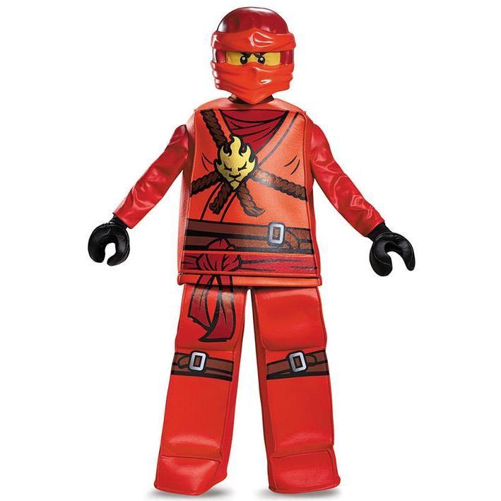 Disfraz de Kai ninja Lego Luxury para niño