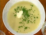 Cream of Leek and Potato Soup Recipe