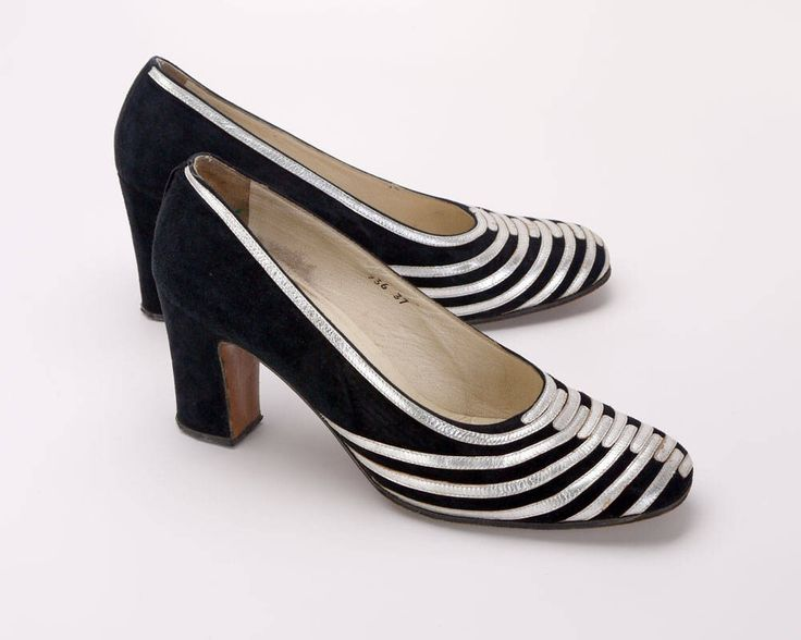 1970s Renata Black Suede & Silver Kid Court Shoes by TheLazyGirlsWardrobe on Etsy https://www.etsy.com/uk/listing/504331877/1970s-renata-black-suede-silver-kid