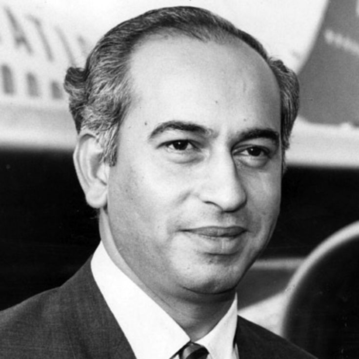Zulfikar Ali Bhutto was the president and prime minister of Pakistan who founded the Pakistan People's Party and was later executed, on Biography.com.
