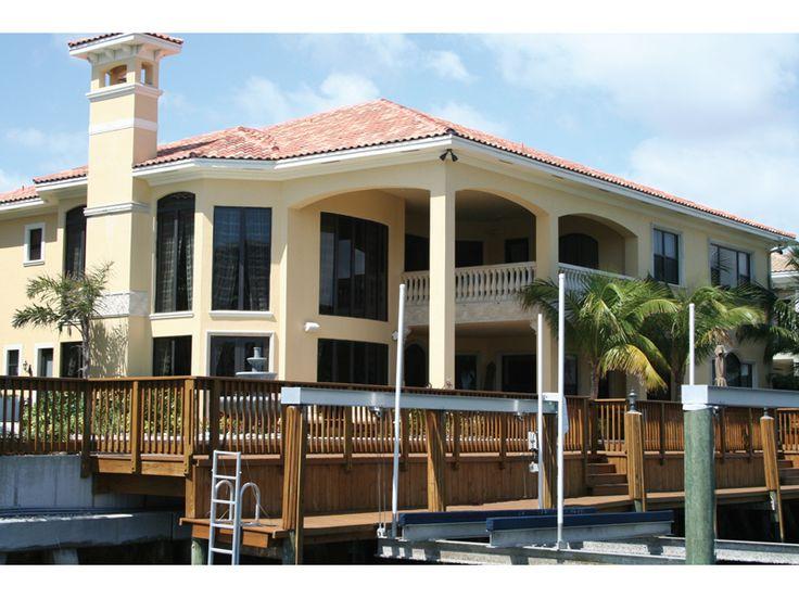 Best Florida House Plans Images On Pinterest Florida House - Stucco home plans
