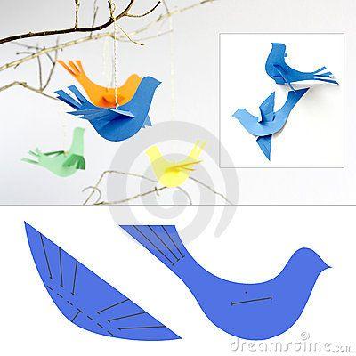 Oiseaux de papier Plus