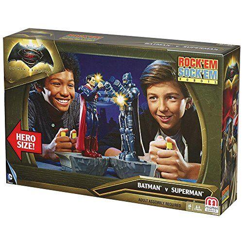 Warner Bros. Batman Superman: Dawn of Justice Rockem Sockem Robots Game