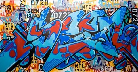 SEEN UA canvas | Graffiti - Street Art, Graffiti en Art