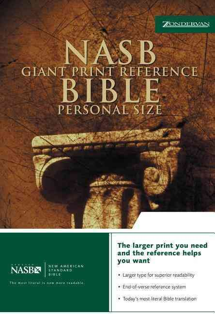 Holy Bible: New American Standard Bible,, Bonded Leather, Reference, Personal Size