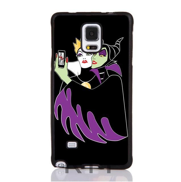 Grimhilde & Malefica Selfie Tpu Nero cell phone bags case cover for iphone 4S 5S 5C SE 6S 7 PLUS IPOD Samsung NOTE IPOD HTC SONY