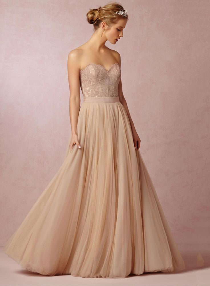 bridalup.com SUPPLIES Simple/Charming A-Line Floor-Length Sweetheart Tulle Wedding Dress With Lace Simple Wedding Dresses