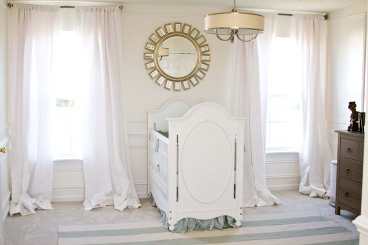 This room is simply as chic and serene as it gets