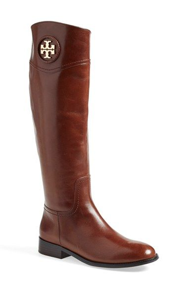 Free shipping and returns on Tory Burch 'Ashlynn' Riding Boot (Women) (Nordstrom Exclusive) at Nordstrom.com. A leather-wrapped logo medallion adds signature Tory Burch style to these always-elegant, equestrian-inspired boots crafted from supple, beautifully finished leather.