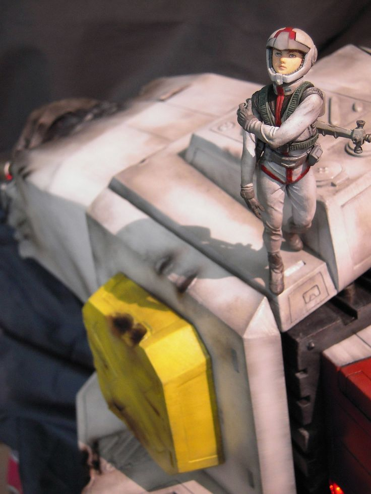 """This is an Amazing 1/18 Full Scratch Build Diorama! """"Lalah's Place Amuro & Gundam"""": Full Photoreview No.40 Wallpaper or Big Size Images. Full Detailed Cockpit & LED's. ENJOY!!!   gunjap"""