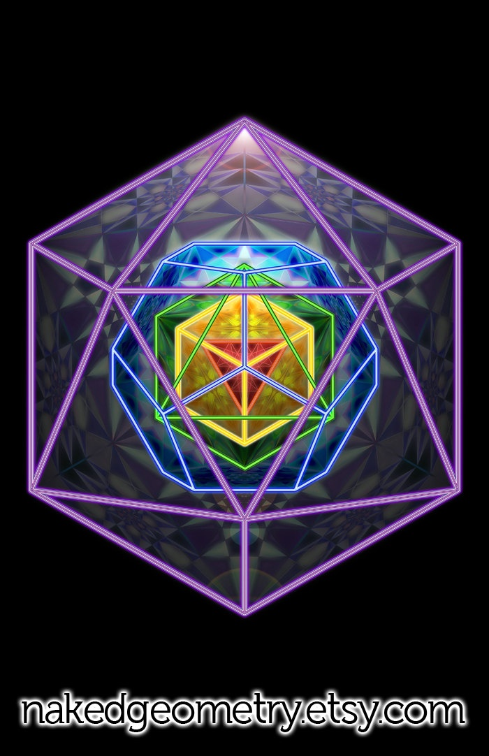 1000+ images about Platonic and archimedian solids on ... Platonic Solids Art