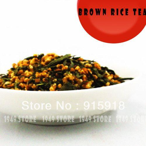 Коричневый Рис Чай Зеленый Чай Органический Натуральный Свободные Сушеные Китайский Gloden Чай 100 г