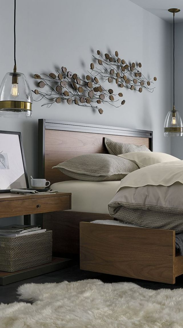 Wood Decor Decorating With Wood Master Bedroom Wall Decor