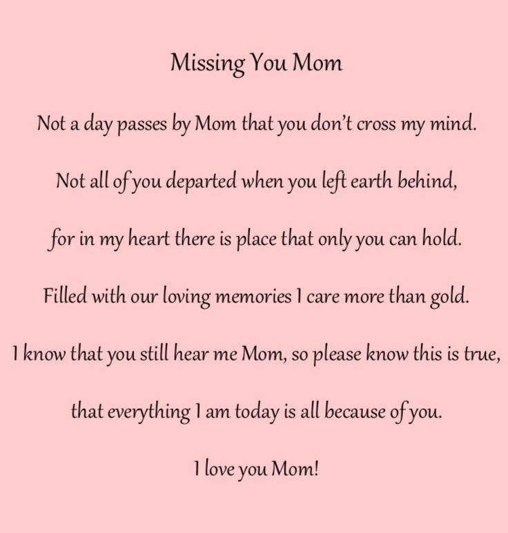 For my mom and dad...Miss them both so much.