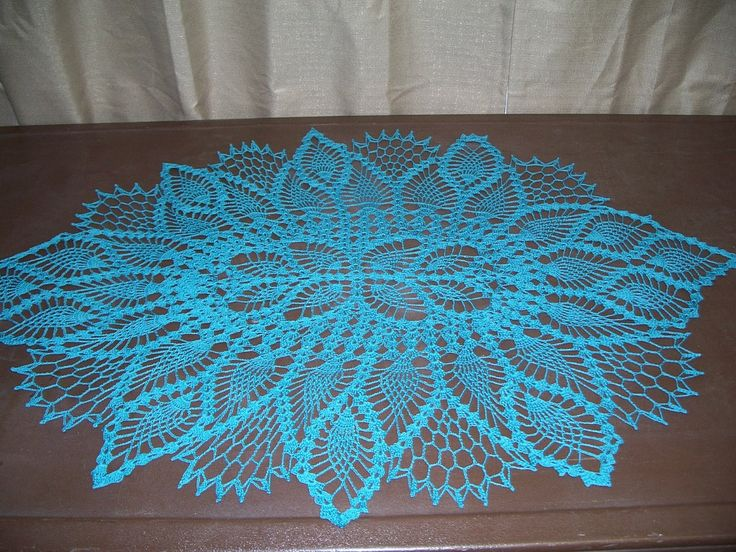pineapple crochet doily diagram gmc wiring harness free patterns dresser runner | ... about oval pattern on the site: http://www