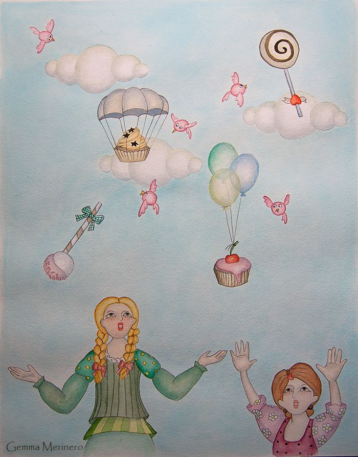It's raining cakes!. (Gemma Merinero)