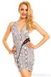 Hadí dámské letní šaty Ethina