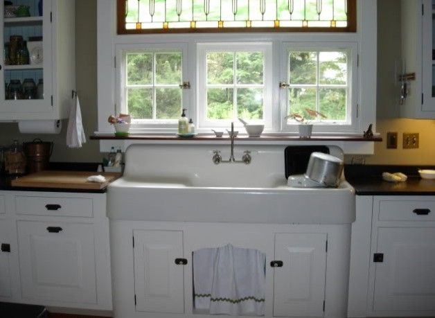 Vintage Farmhouse Kitchen Sinks
