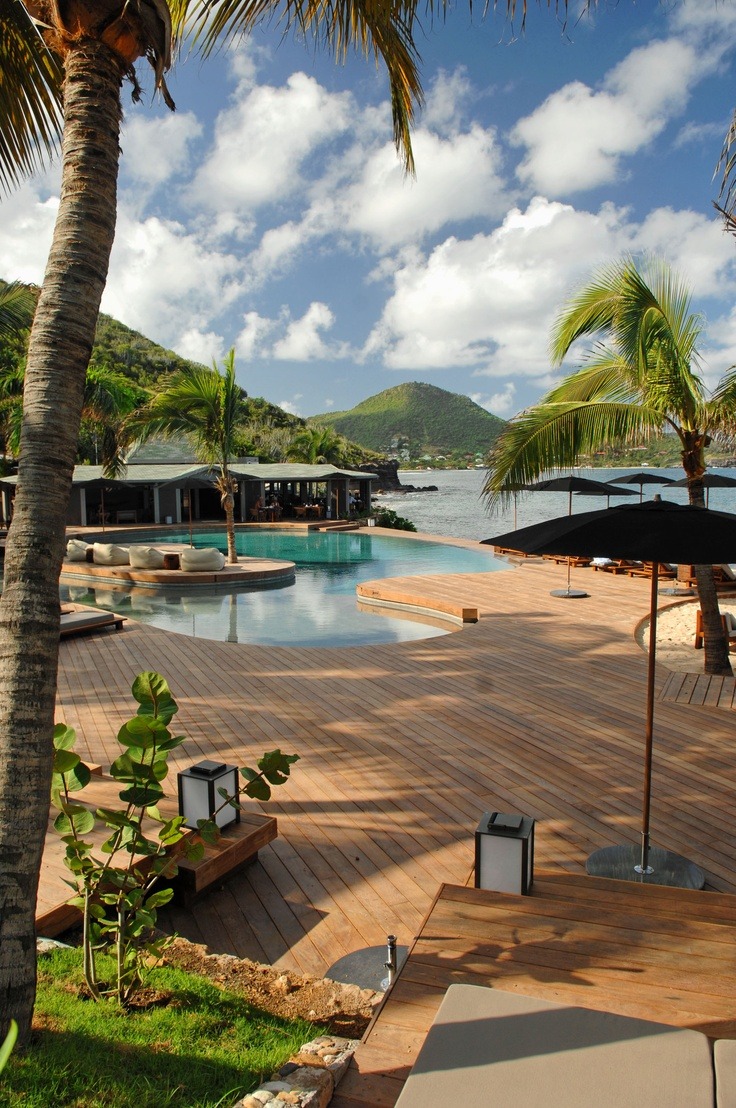 St Barth.  This looks like the Manapany Resort where we stayed several times.  I love to be able to go back...
