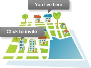 White pages neighbors - organize a neighborhood party!