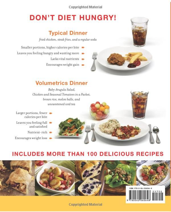 what to eat on the volumetrics diet