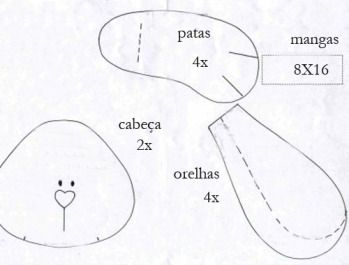 By Kika Arts: Guirlanda de páscoa - molde...