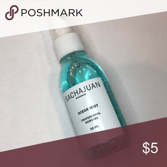 Sachajuan professional hair mist. Sachajuan professional hair mist.  NEW unused  50ml  All small items can be bundled for discounts.   3 for $15 4 for $20 5 for $25 sacha juan Makeup