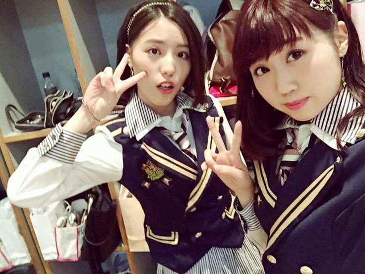 Anna Ijiri x Konomi Kusaka  https://twitter.com/enoki_zzz0112/status/691976729548554240