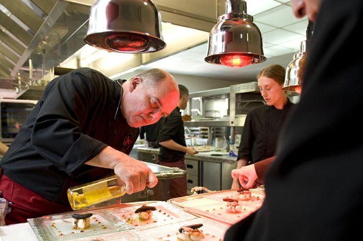 Michel Kayzer, chef du restaurant Alexandre à Nîmes, 2 étoiles au Michelin.