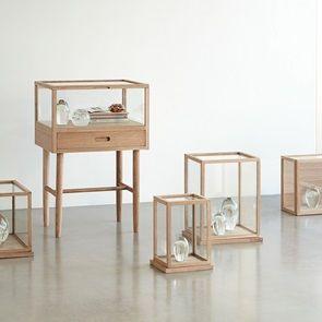 Set Of 2 Display Boxes B Glassbox Display Dome