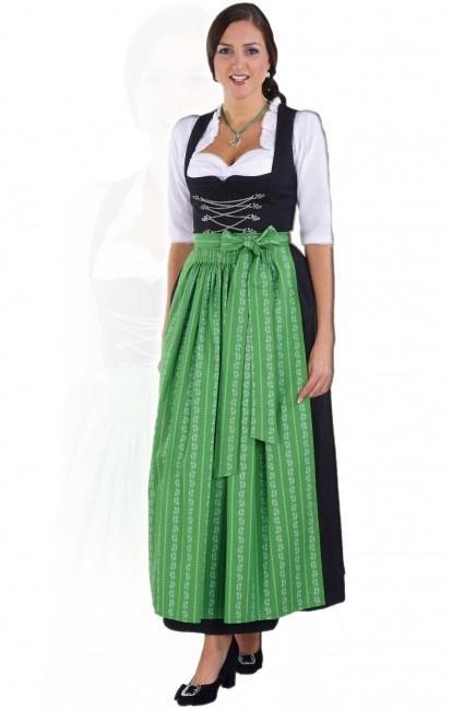 Oktoberfest dirndl apron SC190 kiwi