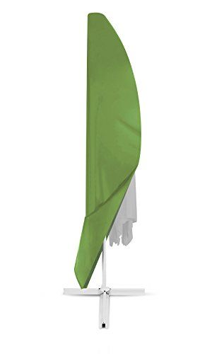 From 12.99 Dokor Parasol Cover Extra Large Cantilever Umbrella Cover With Zip Waterproof Breathable Oxford Fabric - Green
