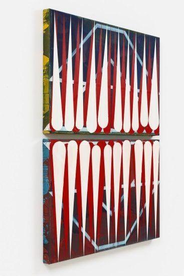 Diese Ausstellung startet morgen, 08.09., ab 18 Uhr mit einer Vernissage: Clara Brörmann   pursuit of happiness   SCHWARZ CONTEMPORARY   09.09.-22.10.2016 by bis 22.10.  SCHWARZ CONTEMPORARY zeigt ab dem 9. September 2016 die Ausstellungpursuit of happiness der Künstlerin Clara Brörmann. Aus der monochrom blauen Bildfläche in Wurfzabel 1 sind zahlreiche Farbstreifen herausgeschnitten, so dass der Blick auf die grobe Leinwand und auf ein scheinbar  ART at Berlin A