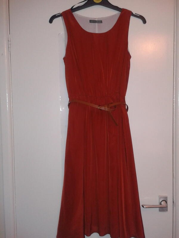 """""""Found this beautiful dress in the Scope charity shop today. £3.49!! Such a bargain! I have plans for this dress :) """""""