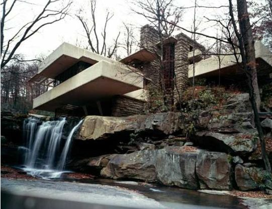 Frank Lloyd Wright, Fallingwater, Mill Run, Pennsylvania, USA