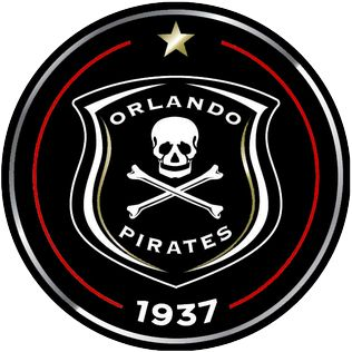 full name 	Orlando Pirates Football Club Nickname(s) 	Buccaneers, Bucs, Ezikamagebhula, Sea Robbers, Ghosts, Happy People, Amabhakabhaka, Ezimnyama Ngenkani (The black ones) Founded 	1937, as Orlando Boys Club Ground 	Orlando Stadium, Soweto, Johannesburg Capacity 	40,000 Chairman 	Irvin Khoza Coach 	Eric Tinkler (caretaker) League 	ABSA Premiership 2013–14 	ABSA Premiership, 4th