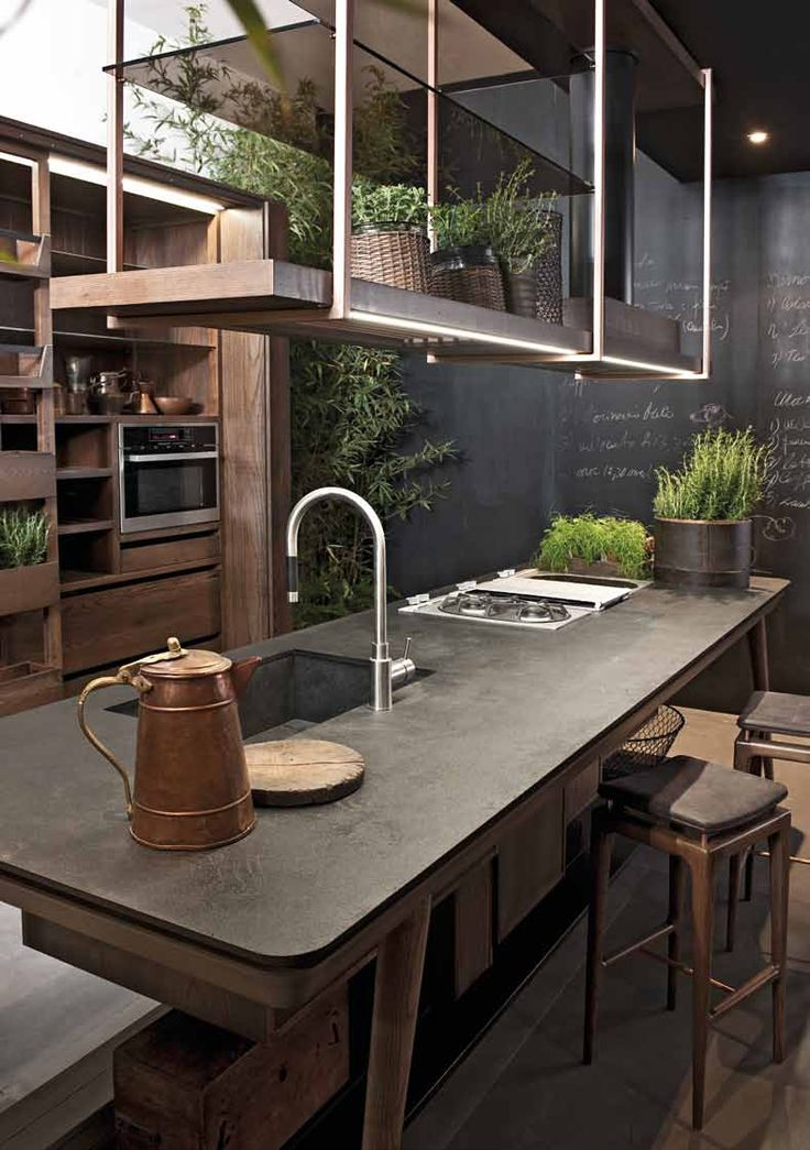 Designer kitchen La Cucina from the factory Shake (Luciano Zonta)