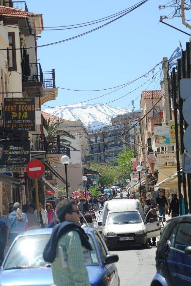 Chania, Crete mountain view.